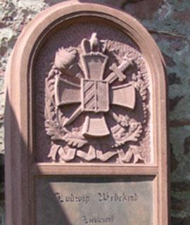 Ludwig Wedekind Gedenkstein